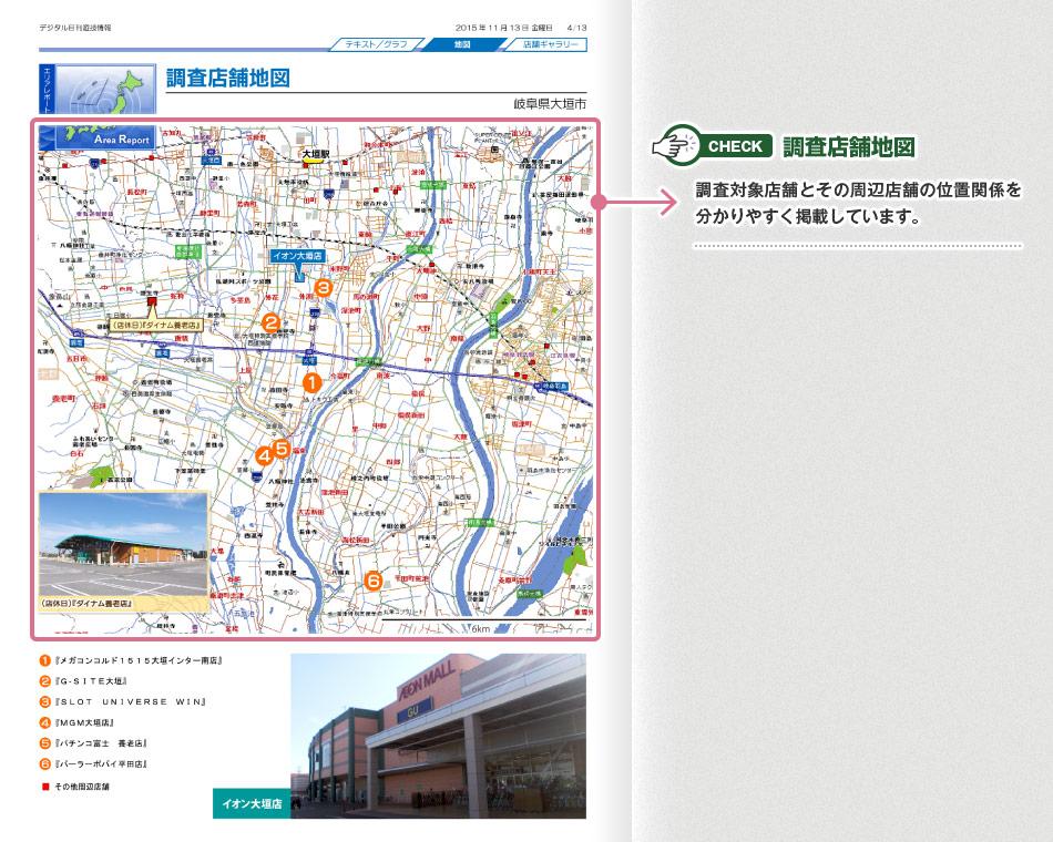 調査店舗地図